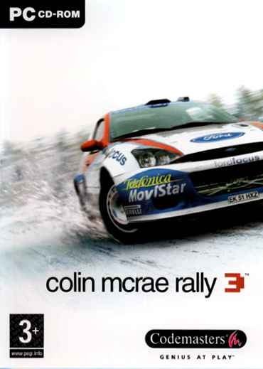 Game Pc Colin Mcrae Rally 3 Edição De Luxe - Cd-rom