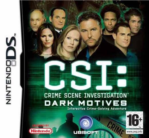Game Nintendo Ds Csi Dark Motives