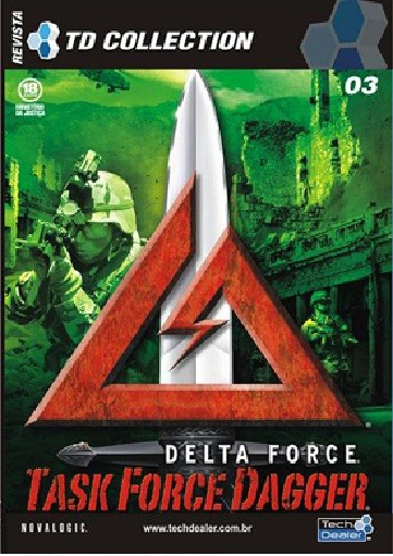 Game Pc Delta Force Task Force Dagger Original Lacrado