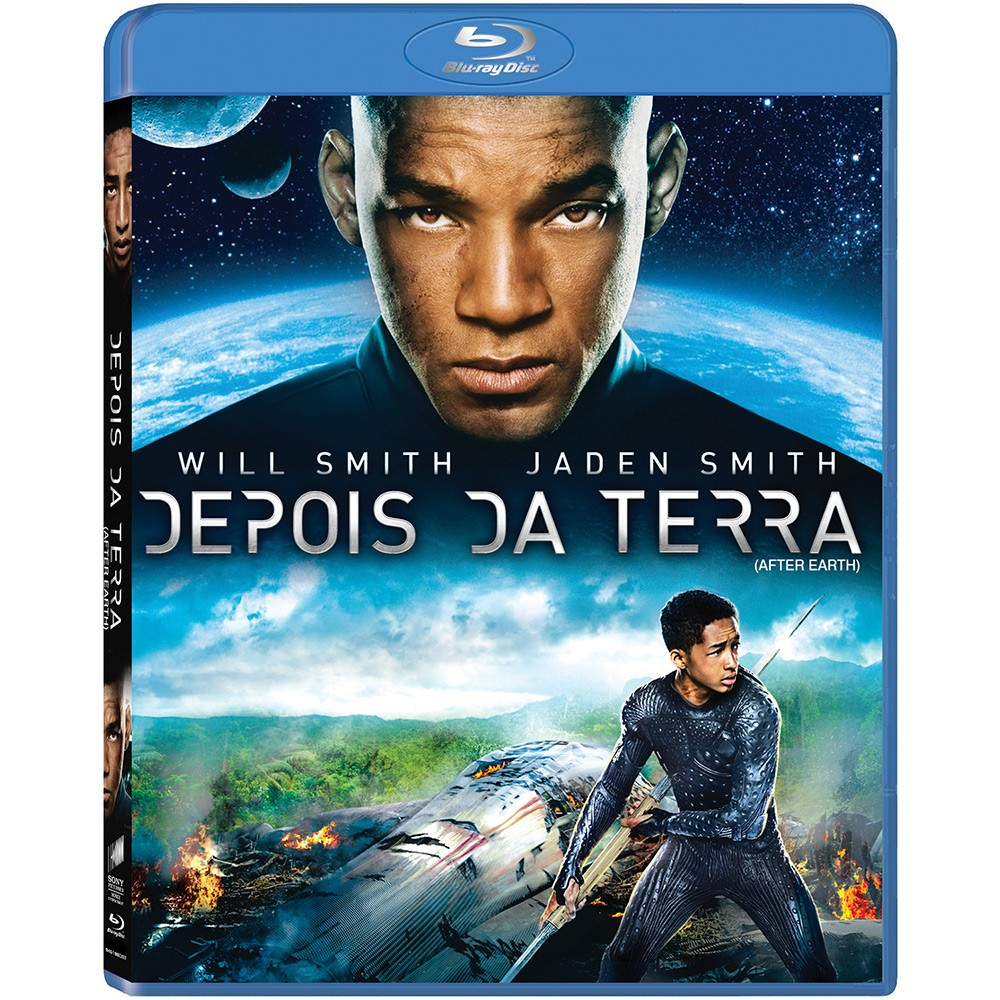 BLU RAY LACRADO DEPOIS DA TERRA WILL SMITH JADEN SMITH - AUDIO EM PORTUGUES