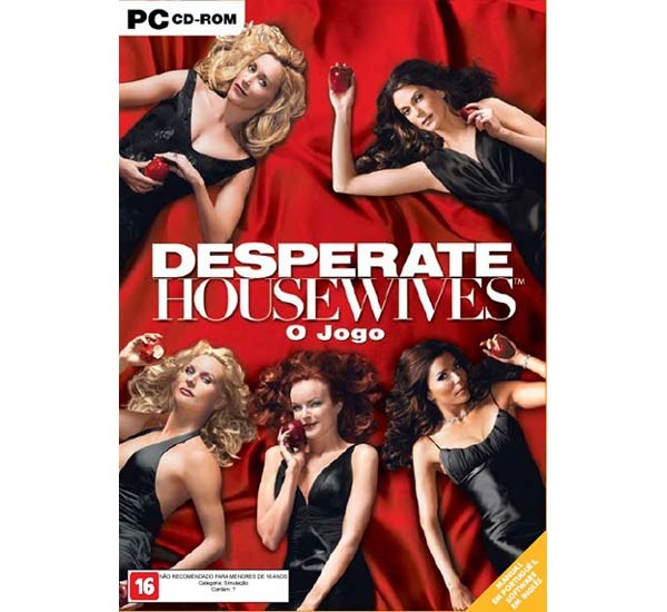 Game Pc Desperate Housewives - Edição De Luxe - Cd-rom