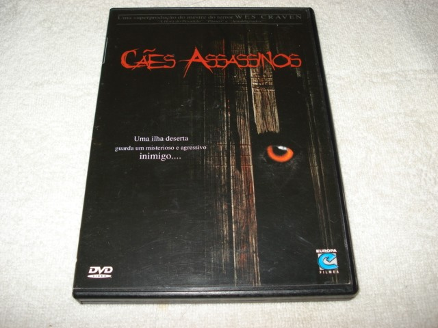 Dvd Cães Assassinos De Wes Craven