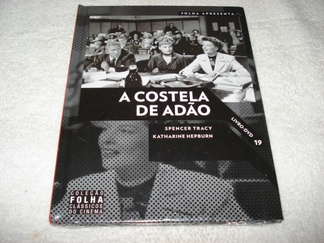 Dvd Livro A Costela De Adão Com Spencer Tracy