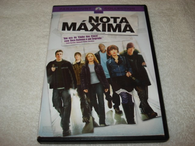 Dvd Nota Máxima Paramount Collection