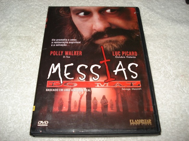 Dvd Messias Do Mal Com Polly Walker E Luc Picard