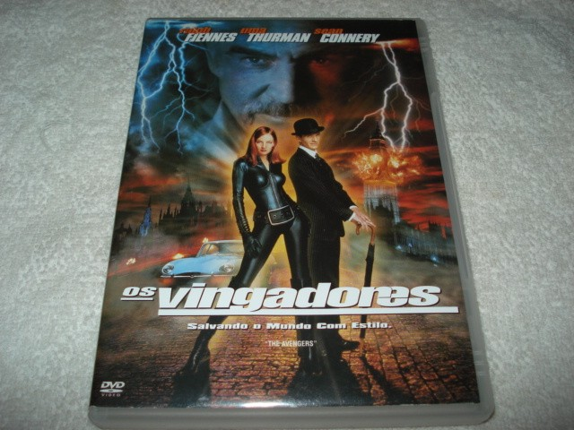 Dvd Os Vingadores Com Sean Connery E Uma Thurman