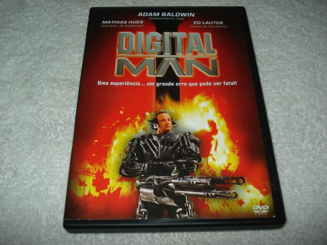 Dvd Digital Man com Adam Baldwin e Mathias Hues
