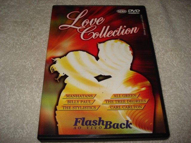 Dvd Love Collection Flash Back ao Vivo