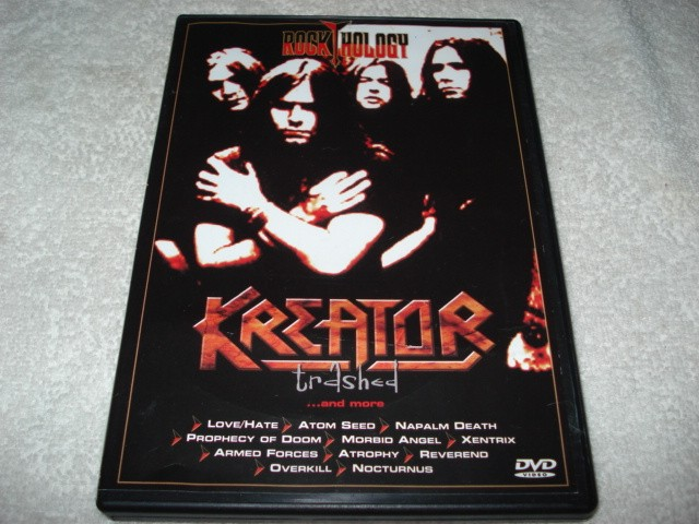 Dvd Rock Hology Kreator Trashed