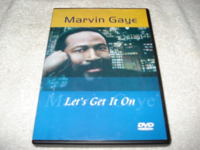 Dvd Marvin Gaye Let's Get It On