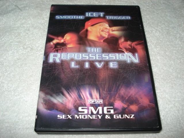 Dvd Ice-T Smoothe Trigger The Repossession Live