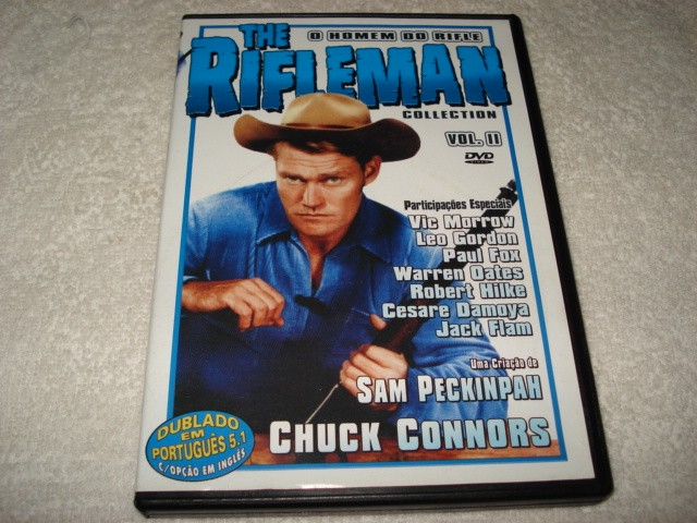 Dvd The Rifleman Collection com Chuck Connors Volume 2