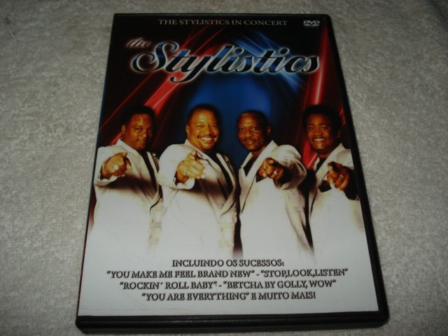 Dvd The Stylistics in Concert