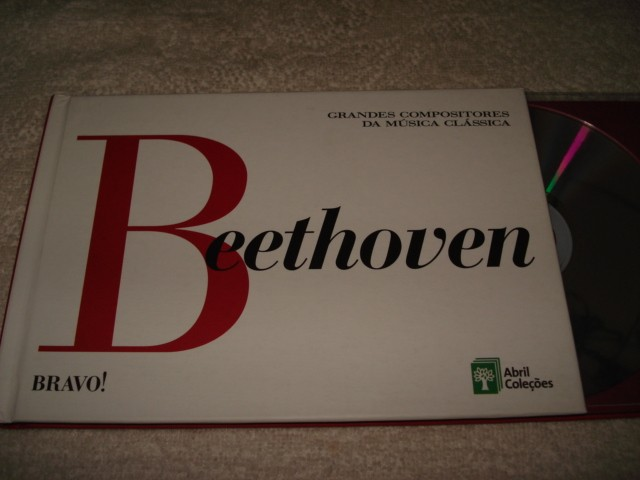 Cd + Livro Grandes Compositores Beethoven
