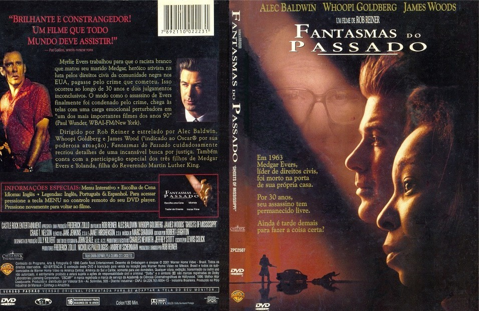 DVD FANTASMAS DO PASSADO COM ALEC BALDWIN E JAMES WOODS