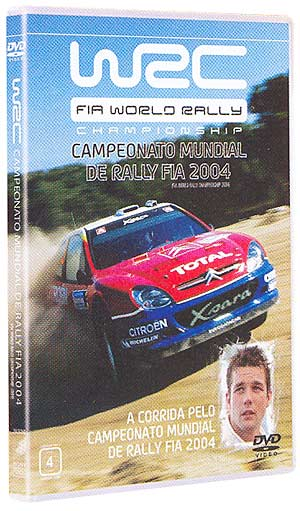 DVD FIA WORLD RALLY CHAMPIONSHIP 2004