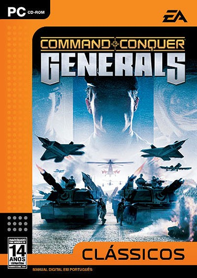Game Pc Command & Conquer Generals - Cd Novo Lacrado
