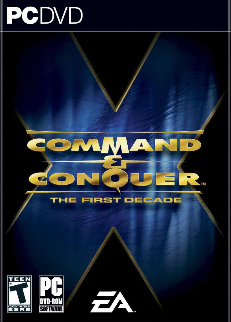 GAME PC COMMAND E CONQUER FIRST DECADE DVD ROM