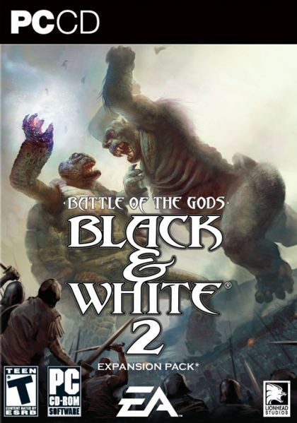 GAME PC BLACK E WHITE 2 EXPANSÃO BATTLE OF THE GODS