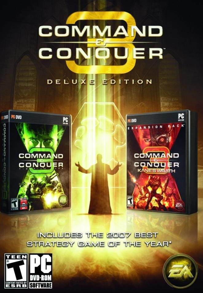 GAME PC COMMAND E CONQUER 3 DELUXE EDITION TIBERIUM + KANES WRATH