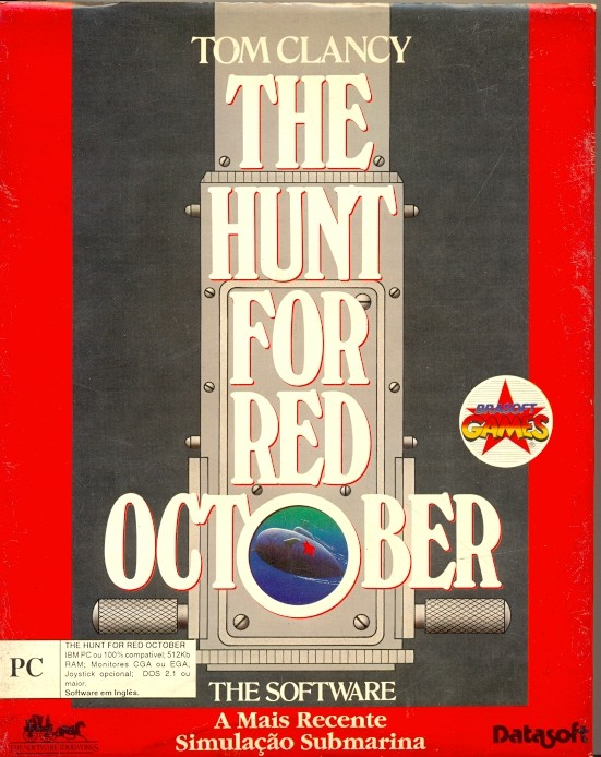 GAME PC TOM CLANCY THE HUNT FOR RED OCTOBER PARA COLECIONADOR