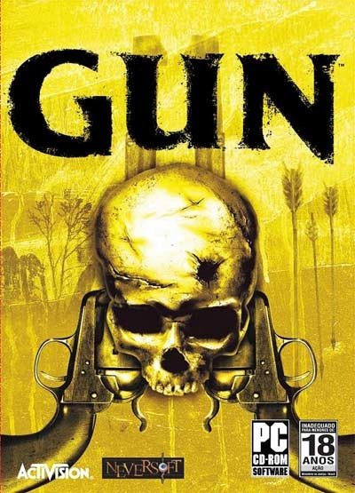 Game Pc Gun - Cd-rom Novo Lacrado