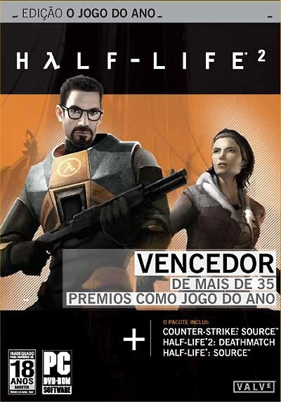 Game Pc Half Life 2 - Game of The Year - Conta Steam - Frete Grátis