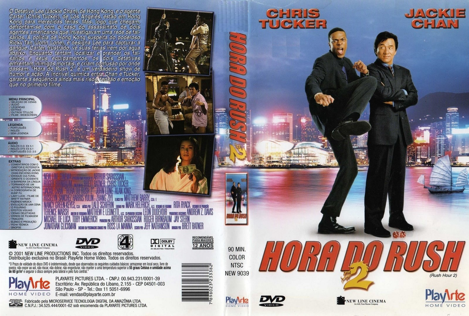 DVD LACRADO HORA DO RUSH 2 CHRIS TUCKER JACKIE CHAN