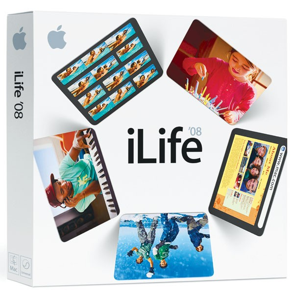 ILIFE 08 FAMILY PACK – APPLE MB016Z/A