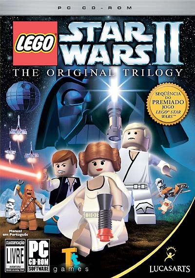 Game Pc Lego Star Wars Ii: The Original Trilogy- Cd-rom