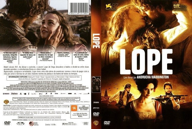 DVD LOPE FILME DE ANDRUCHA WADDINGTON + LEGENDAS EM PORTUGUES