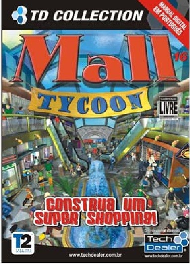 Game Pc Mall Tycoon Novo Original Lacrado