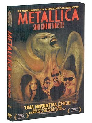 DVD DUPLO METALLICA SOME KIND OF MONSTER ORIGINAL LACRADO