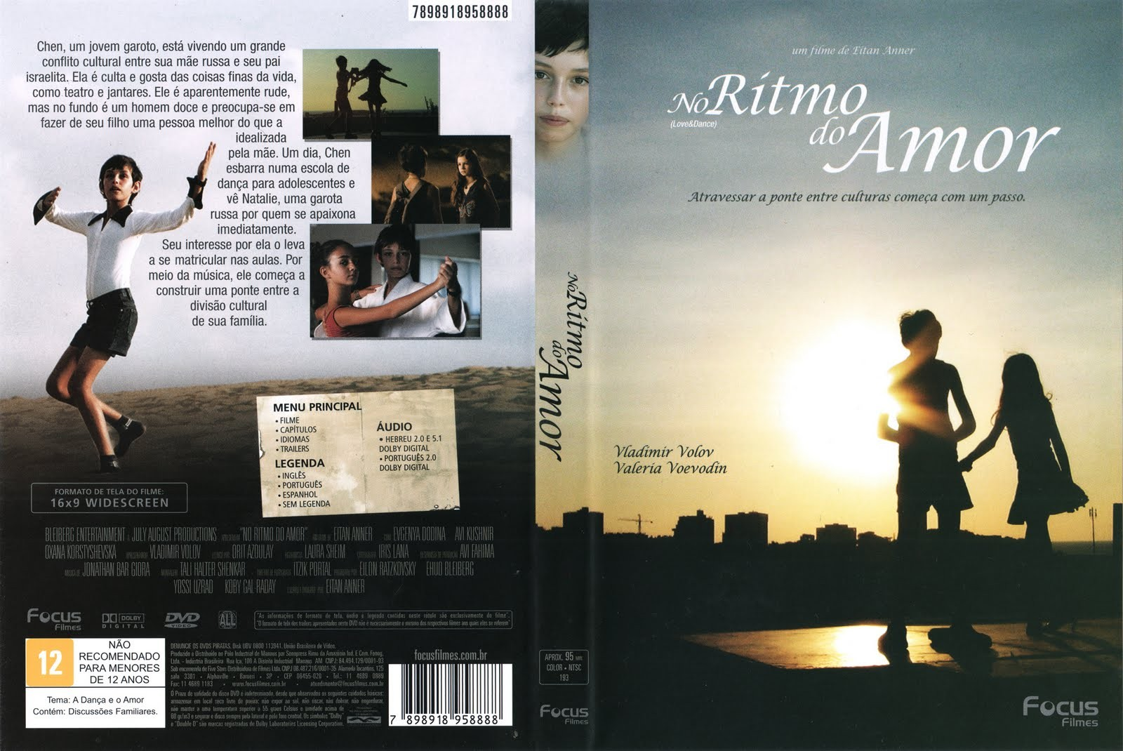 DVD LACRADO NO RITMO DO AMOR FILME DE EITAN ANNER - AUDIO EM PORTUGUES
