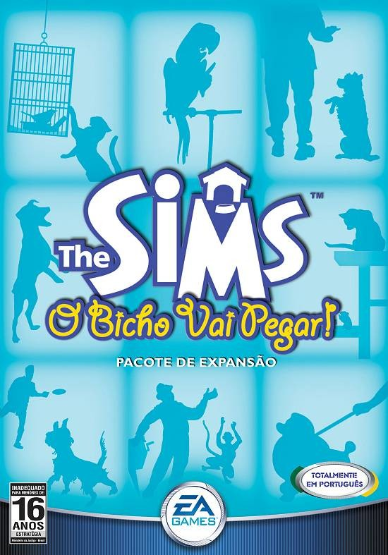 Game Para Pc The Sims O Bicho Vai Pegar Pc-cd Original Novo