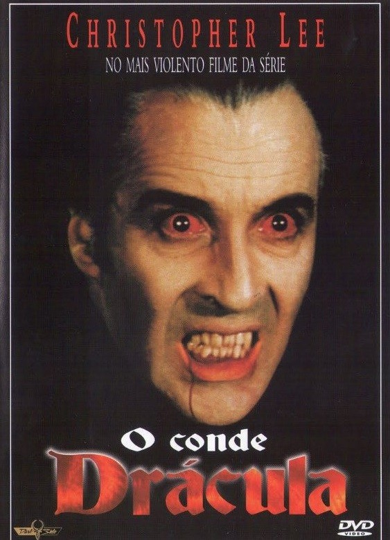 DVD O CONDE DRACULA COM CHRISTOPHER LEE - LEGENDAS EM PORTUGUES