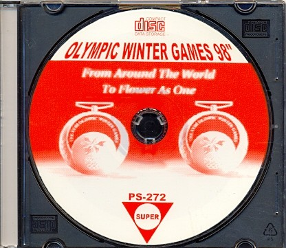 GAME PS1 OLYMPIC WINTER GAMES 98 SEM MANUAL CD PRATA
