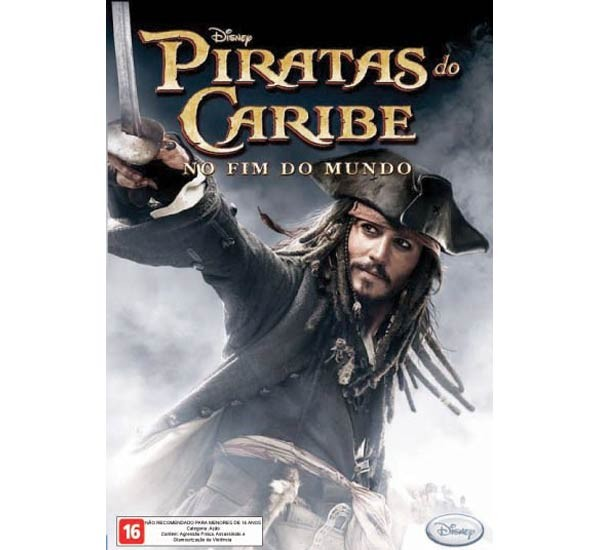Game Pc Piratas Do Caribe 3 - O Fim Do Mundo - Dvd-rom