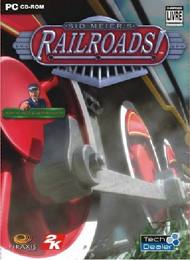 GAME PC SID MEIERS RAIL ROADS