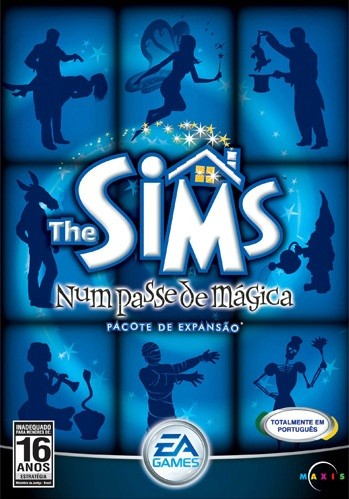 Game Para Pc The Sims Num Passe De Mágica Pccd Original Novo