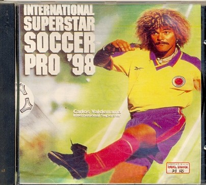 GAME PS1 INTERNATIONAL SUPERSTAR SOCCER PRO 98 CD PRATA SEM MANUAL