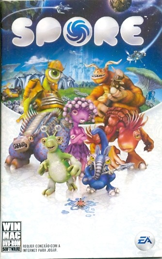 MANUAL ORIGINAL EM PORTUGUES GAME PC SPORE