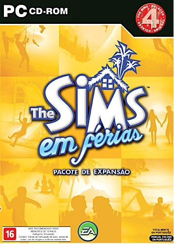Game Para Pc The Sims Em Férias Pc-cd Original Novo