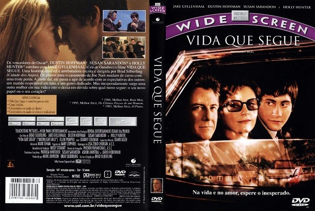 DVD VIDA QUE SEGUE COM DUSTIN HOFFMAN E SUSAN SARANDON + AUDIO EM PORTUGUES