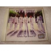 Cd Art Popular Samba Pop Brasil 2