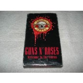 Filme Fita Vhs Guns N' Roses Welcome To The Videos