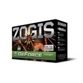Placa De Vídeo Zogis Geforce 7200gs 256mb Pci Express Nova