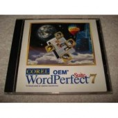 Cd Corel Word Perfect Suite 7 Oem Original Novo Lacrado