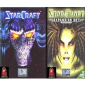 GAME PC STARCRAFT + EXPANSÃO BROOD WAR ORIGINAL NOVO LACRADO