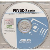 CD DRIVERS ORIGINAL PLACA MAE ASUS P5VDC-X SERIES FRETE GRATIS